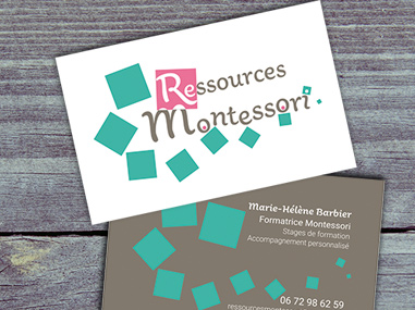 Identité visuelle Ressources Montessori