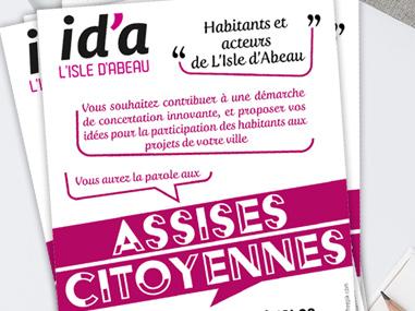 Flyer Assises Citoyennes Isle d'Abeau