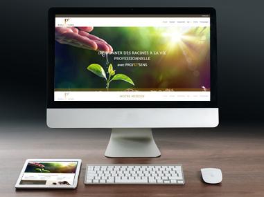 Proj'et'sens – Création site web