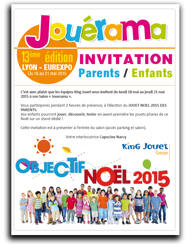 Invitation parents et enfants