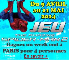 Vignette Homepage Jeu concours Spiderman