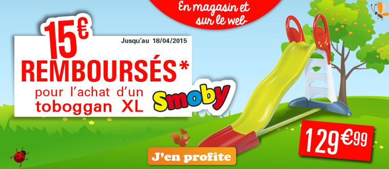Publicité Homepage site Web - Odr Smoby