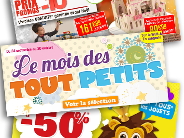 Publicités Site Web King Jouet