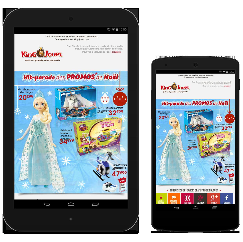 Newsletter King Jouet - Les stars de Noël 2015