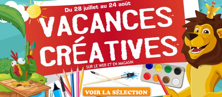 Publicité Homepage site Web - Vacances créatives - Eté 2014