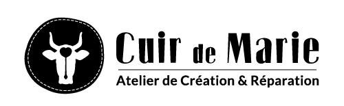 Identité visuelle Cuir de Marie – Atelier de création et réparation d'articles en cuir