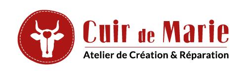 Identité visuelle Cuir de Marie - Logo rouge