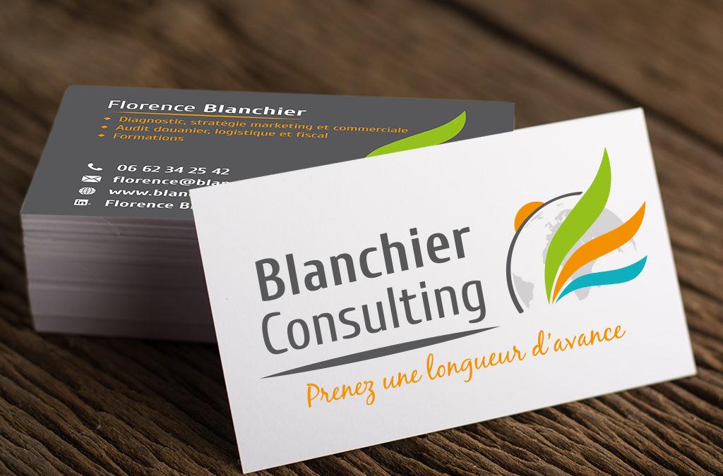 Identite Visuelle Pour Blanchier Consulting