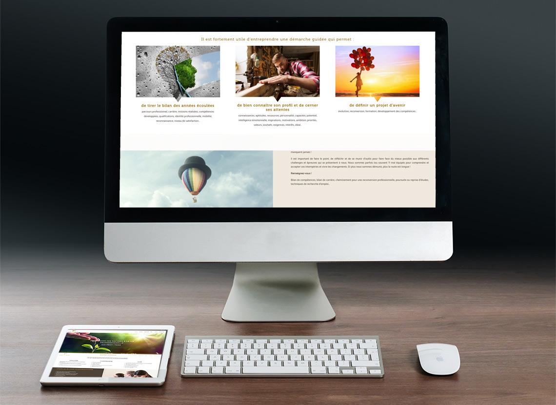 Proj'et'sens - Création site web - Page Comprendre