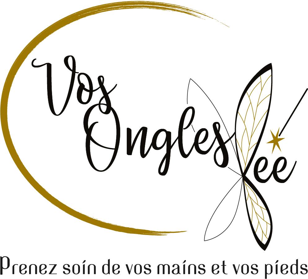 Logo Vos Ongles Fée - Centre de beauté des ongles, des mains et des pieds.