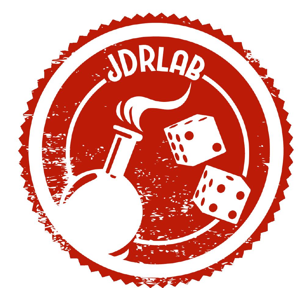 Logo créé pour l'éditeur de jeux de rôle JDRLAB